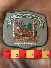 Large Patch Life Member North American Hunting Club Life Member ~ Buck Deer 75WZ