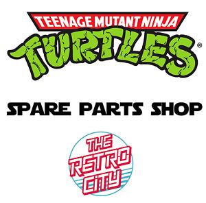 Vtg Teenage Mutant Ninja Turtles TMNT Figure Parts Accessories Weapons Vehicles