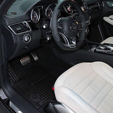 Mercedes W463 G-Class G65 G63 G55 G550 G500 AMG Quilted Eco Leather Floor Mats