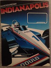 Indianapolis Motor Speedway  Postcard 1st On eBay Car Poster. Own It