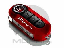 OEM NEW FIAT 500 500L RED AND BLACK KEY FOB DECORATIVE CLIP ON COVER 68227359AA