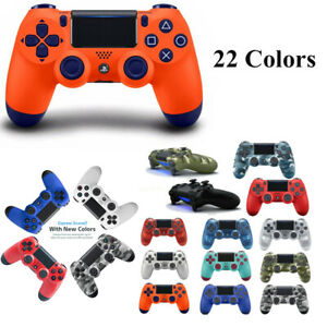 PS4 Controller Wireless Playstation4 Double Vibration Anti-Slip With Light Bar