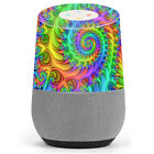Skin Decal Vinyl Wrap for Google Home stickers skins cover/ Trippy Color Swirl