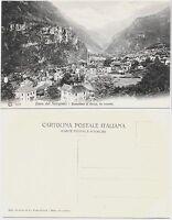 LINEA DEL SEMPIONE PANORAMA DI VARZO LEVANTE cartolina non viaggiata Val Divedro