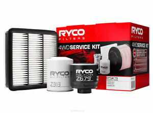 Ryco 4WD Filter Service Kit RSK9 For Mitsubishi Triton 2.5 ML MN