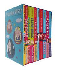 Jacqueline Wilson 4 Bo0k Collection Set Cookie Clean Break Christmas Gift 9