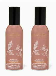 Bath and Body Works 2 Pack Aromatherapy Comfort Vanilla & Patchouli room spray