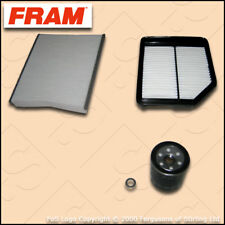 SERVICE KIT HONDA CIVIC 1.8 I-VTEC FK2 FN1 FRAM OIL AIR CABIN FILTER (2005-2012)