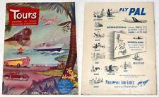 1952 Philippines TOURS TRAVEL MAGAZINE Vol. 1 No. 1
