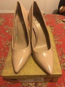 MIX No.6 Women Danyah Beige Heels Size 7.5