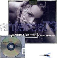 """MANUELA ZANIER """"C'E' VITA NELL'ARIA"""" CDsingle X FACTOR"""