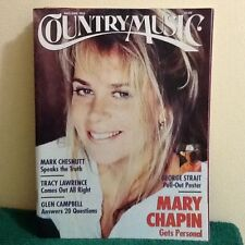 Country Music Magazine May/June 1995, Mary Chapin, Glen Campbell 20 Questions