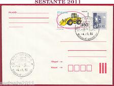 ITALIA FDC MAGYAR POST COSTRUZIONI FIATALLIS FR 10 B 1986 ANNULLO RIMINI FO T534