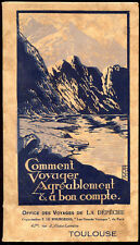 Brochure : OFFICE DES VOYAGES DE LA DEPECHE DU MIDI - Toulouse, 1929