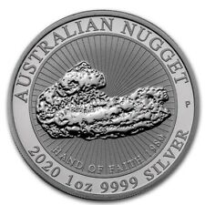 AUSTRALIE 1 Dollar Argent 1 Once Hand of Faith 2020 - 1 oz Nugget