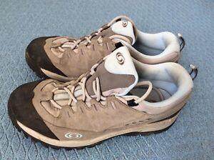 SALOMON Conta Grip womens Grey/blue Trail/trek Shoes UK 8