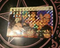 DRAGON BALL Z GT DBZ HONDAN PART 2 CARDDASS CARD PRISM CARTE 48 JAPAN 1989 **