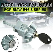 For BMW E46 3 SERIES LEFT DRIVER DOOR LOCK CYLINDER BARREL ASSEMBLY W/ KEY