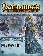Pathfinder Abenteuerpfad:DIE WINTERKÖNIGEN #2-BABA JAGAS HÜTTE-Neu-Mängelexe.
