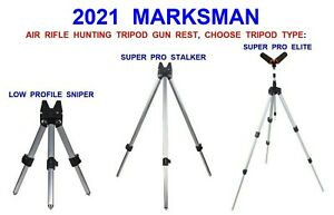 2021 MARKSMAN AIR RIFLE TRIPOD TELE HUNTING SHOOTING TARGET AIR GUN REST STAND