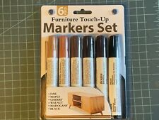 6 piece furniture Touch-up Markers Set