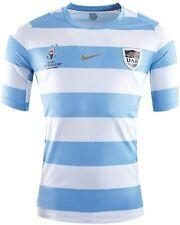 ARGENTINA Mens Blue 2019/20 Nike RWC Home Kit Replica Rugby Shirt Top BNWT