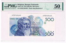 500 Frank/Francs    type  Meunier    1982-1998     Morin 86a     PMG50   UNC++
