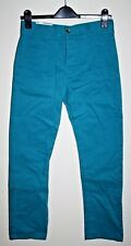 Kangol Fashion Style Designer Woman's Denim Topaz Blue Chinos Jeans Jn30  L 28""
