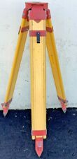 Unbranded Wooden Surveying Tripod Levels Amp Surveying Equipment Heavy Duty