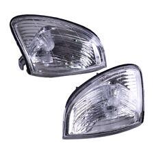 2Pcs Car Front Turn Signal Light Corner Clear Lens Fit For Lexus LX470 1998-2007