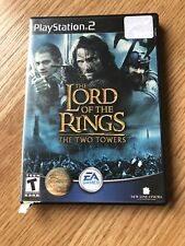 The Lord Of The Rings The Two Towers PS2 Sony PlayStation 2 Cib Game H1