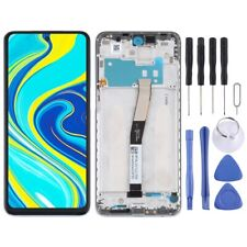 For Xiaomi Redmi Note 9S Frame LCD Replacement Display Digitizer Touch SILVER
