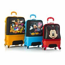 Disney Clubhouse Hybrid Soft Side Spinner Luggage Suitcase Set 3 Piece