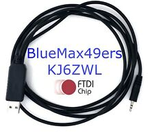 FTDI USB Programming Cable Kenwood TH-D7 TH-D7A TH-D7A(G) TH-D7E TH-D7E(G) PG-4W