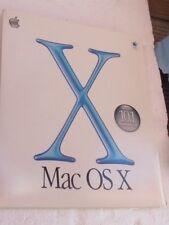 Apple Mac OS X 10.1 Upgrade Install CD Original (Requires Mac OS X)