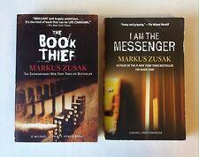 Lot 2 Markus Zusak Books (PB) The Book Thief, I Am the Messenger