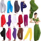 Womens Ali Baba Harem Trousers Yoga Pants Baggy Hareem Leggings Dance Plus Size