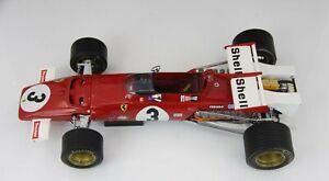EXOTO 1:18  Ferrari 312B #3 Jacky Ickx - 1970 F1 Mexico GP Winner