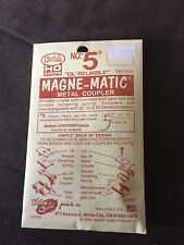 """Kadee #5 """"Ol Reliable� Magne-Matic Metal Coupler 2 Pair Factory Sealed!"""