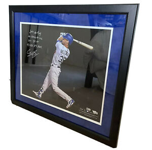 "Cody Bellinger ROY Dodgers Fanatics Authentic Autographed 16"" x 20"" LE #3/35"