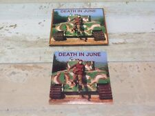 DEATH IN JUNE - ABANDON TRACKS! (RARITIES, REMIXES...2005 CD  Laibach Current 93