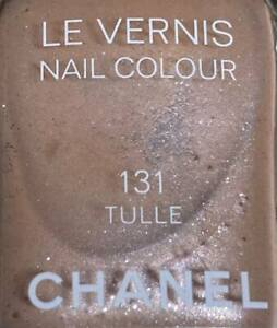 chanel nail polish 131 TULLE rare limited edition VINTAGE