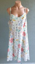 ❤️ OLD NAVY Summer Strappy Sundress White Floral Size 2XL Buy7=FreePost L674