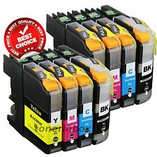 8x LC203 LC-203 Ink Cartridge For Brother LC201 MFC-J460dw MFC-J480dw MFC-J485dw