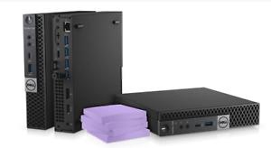 Windows 10 PC DELL Optiplex 7050 Micro PC i7-7700T 240GB SSD 2.9GHz