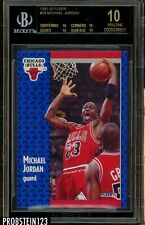1991-92 Fleer #29 Michael Jordan Bulls HOF BGS 10 Pristine BLACK LABEL