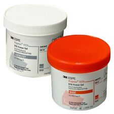 3M EXPRESS STD VPS IMPRESSION PUTTY 2 x 305 ML Base + Catalyst JARs 7312 DENTAL