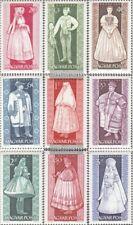 Hongrie 1954A-1962A (édition complète) oblitéré 1963 Costumes