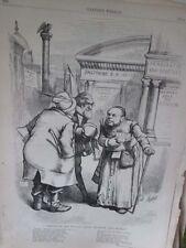 Vintage Print,SHYLOCK,Harpers,Nast,1872