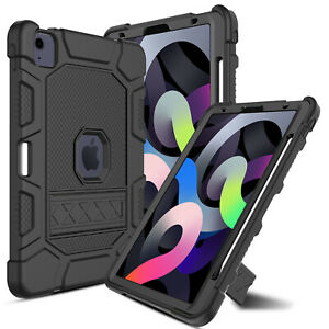 """For iPad Air 4th Gen 10.9"""" 2020 Shockproof Rugged TPU Kickstand Hard Case Cover"""